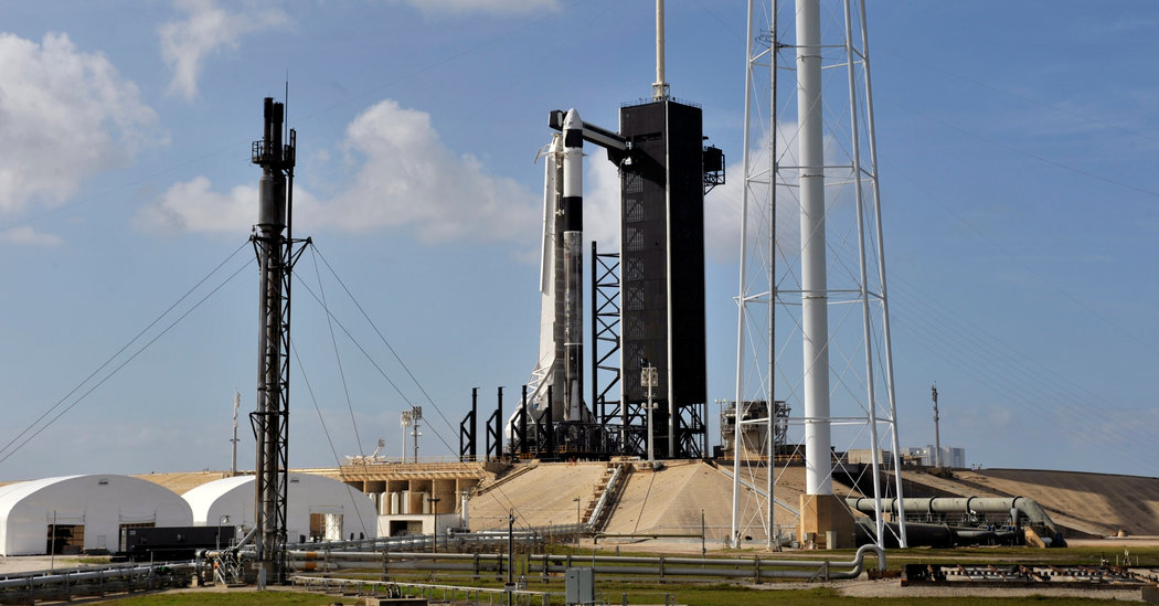 NASA Announces May Date for SpaceX Astronaut Launch to Space Station