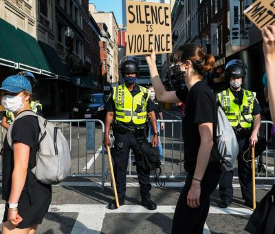 Big Tech's Role in Policing the Protests