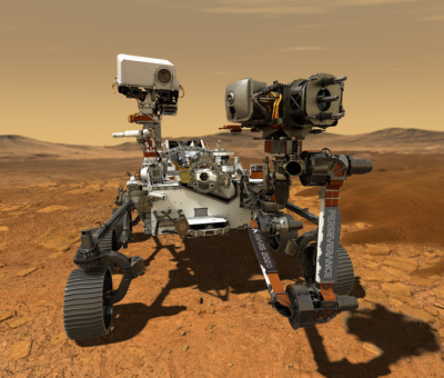 On Mars, the Perseverance rover and a helicopter will roam free