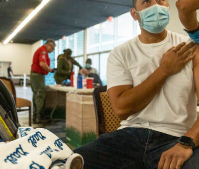 In the US, vaccinated people can gather indoors, the CDC says.