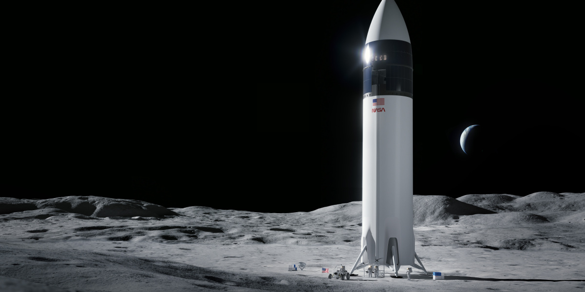 NASA selects SpaceX's Starship as the lander to take astronauts to the moon