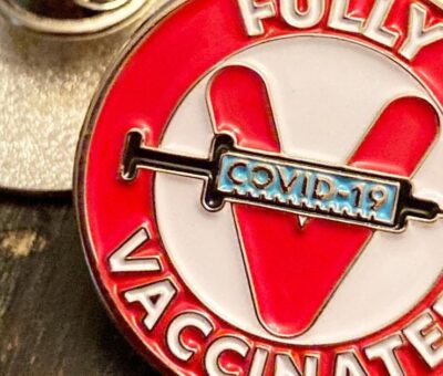 Covid-19 vaccine buttons, T-shirts, and merch are selling out fast on Etsy