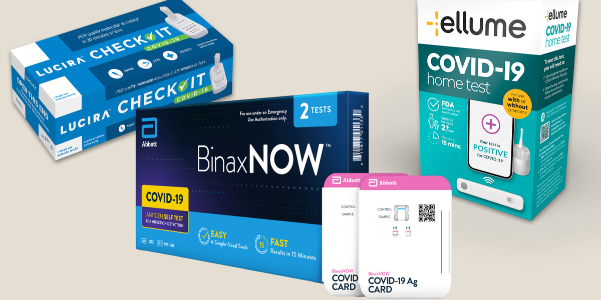 We reviewed three at-home covid-19 tests. Here's what happened